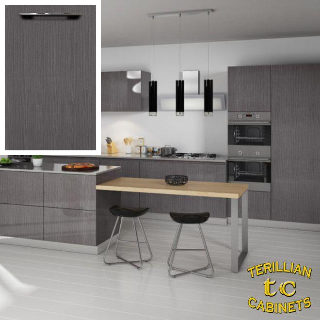 Grey Oak Euro-Style Cabinets in 2020 | European kitchen ...