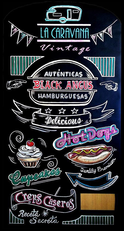 Pizarras handmade jorge montero pizarras - Pizarras de bar ...
