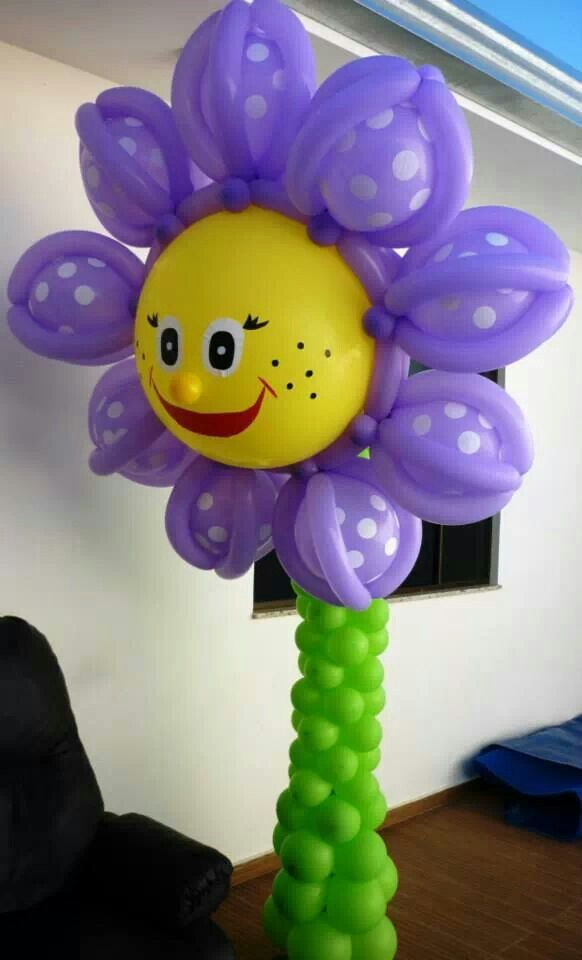 Balloon Decorations FIESTAS DECORACIONES Pinterest Globo, Flor - imagenes de decoracion con globos