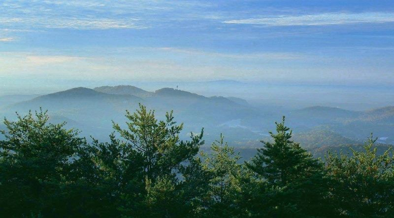 Hiking trail near Pine Mountain, (With images