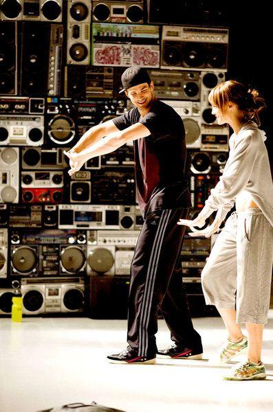 Rick Malambri Sharni Vinson in Step Up 3D
