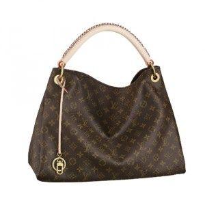 4730803f8d16 Authentic Louis Vuitton Womens Artsy Monogram MM Handbag (M40249 ...