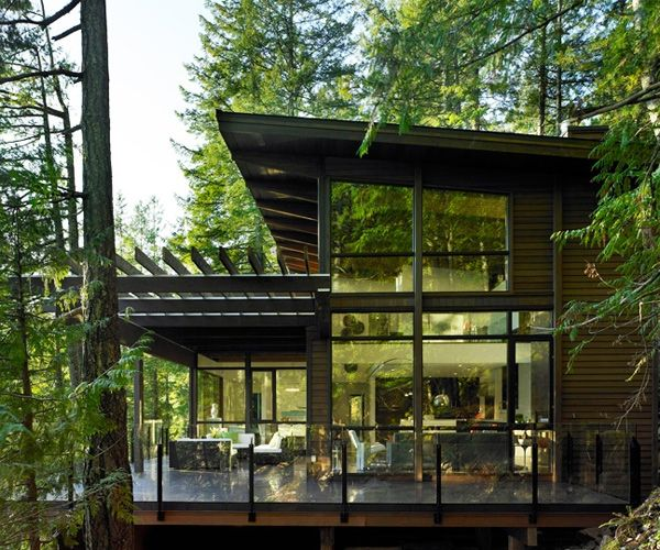 Modern Cozy Mountain Home Design Ideas 30: Astonishing Contemporary