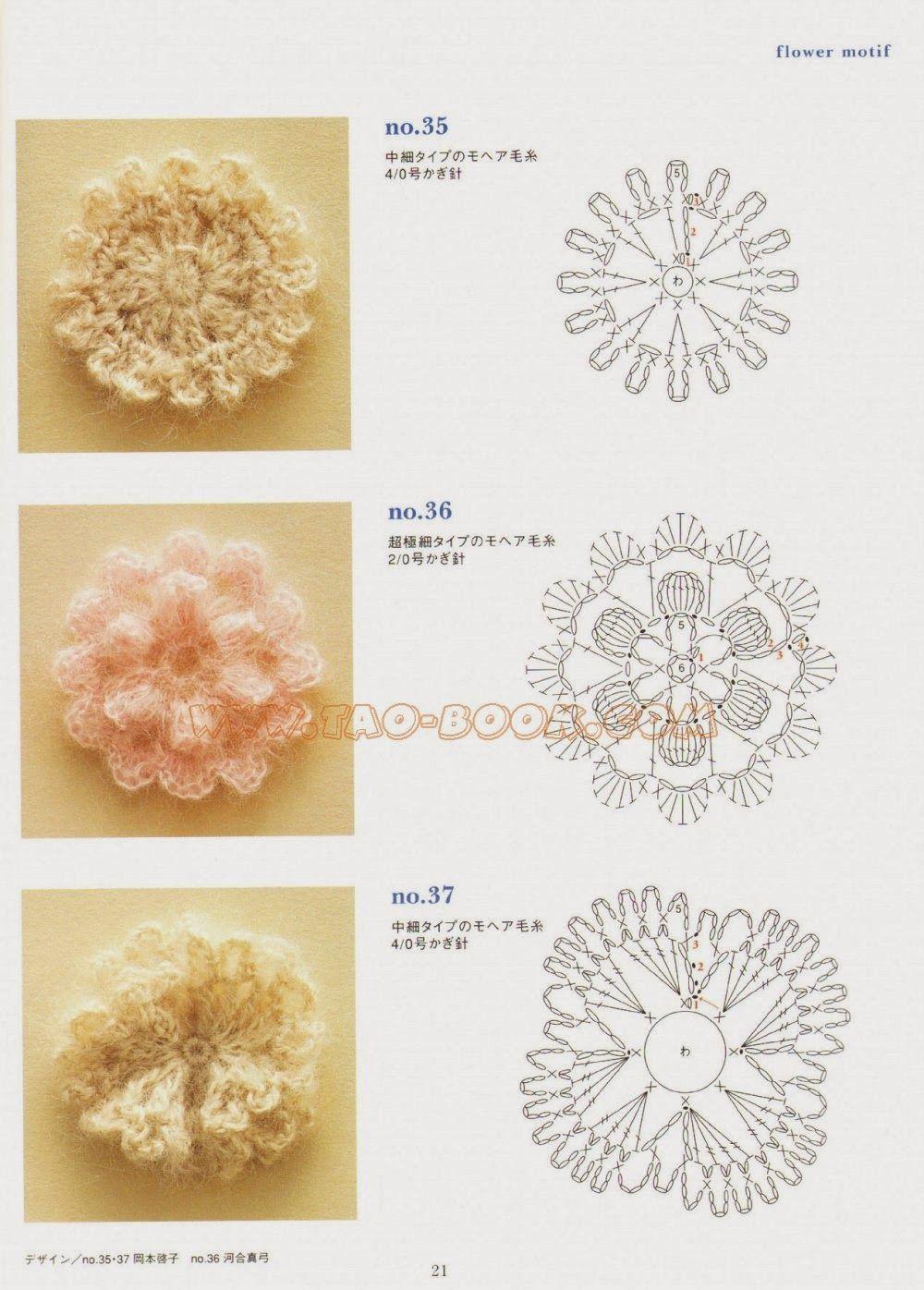 crochet motifs | Needle arts | Pinterest | Encaje irlandés, Encaje y ...