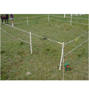 Portable Paddock Electric Fence System by Woodstream. $219.99