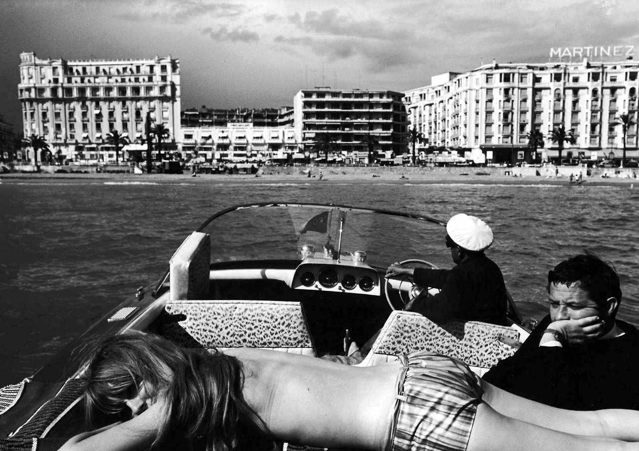 A Scene From Cannes During The International Film Festival 1962 See More Photos Here Paul Schutzer Time Film Festival Poster Photo Cannes Film Festival