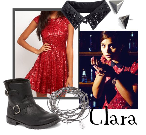"""Clara Oswald from """"Journey to the Centre of the TARDIS"""""""