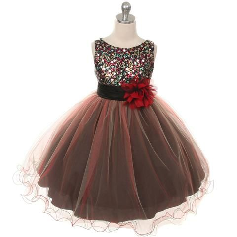 c2419aba3b7bc Teal Multi-sequin Trio Color Tulle Baby Dress | YOU KNOW I MEAN IT<3 ...