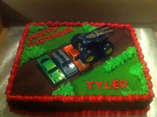 monster truck cakes Monster truck cake Yelp Cakecupcake