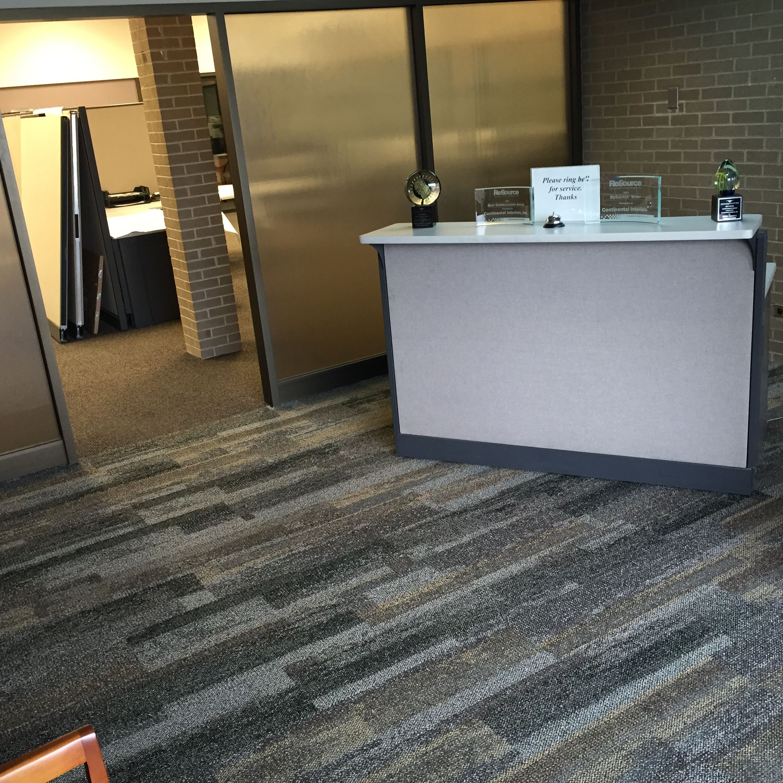 Interface carpet tile reclaim installed in corporate office a interface carpet tile reclaim installed in corporate office baanklon Gallery