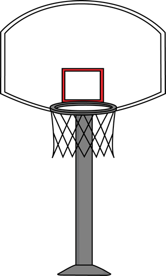 printable basketball art basketball goal clip art image rh pinterest com goal post clip art images goal post clipart free
