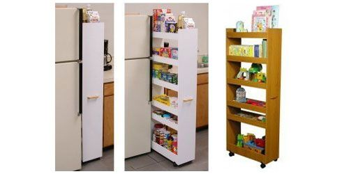 Ordinaire Add These Beautiful Rolling Pantry Organizers Into Your Kitchen Cabient  Refacing Project.