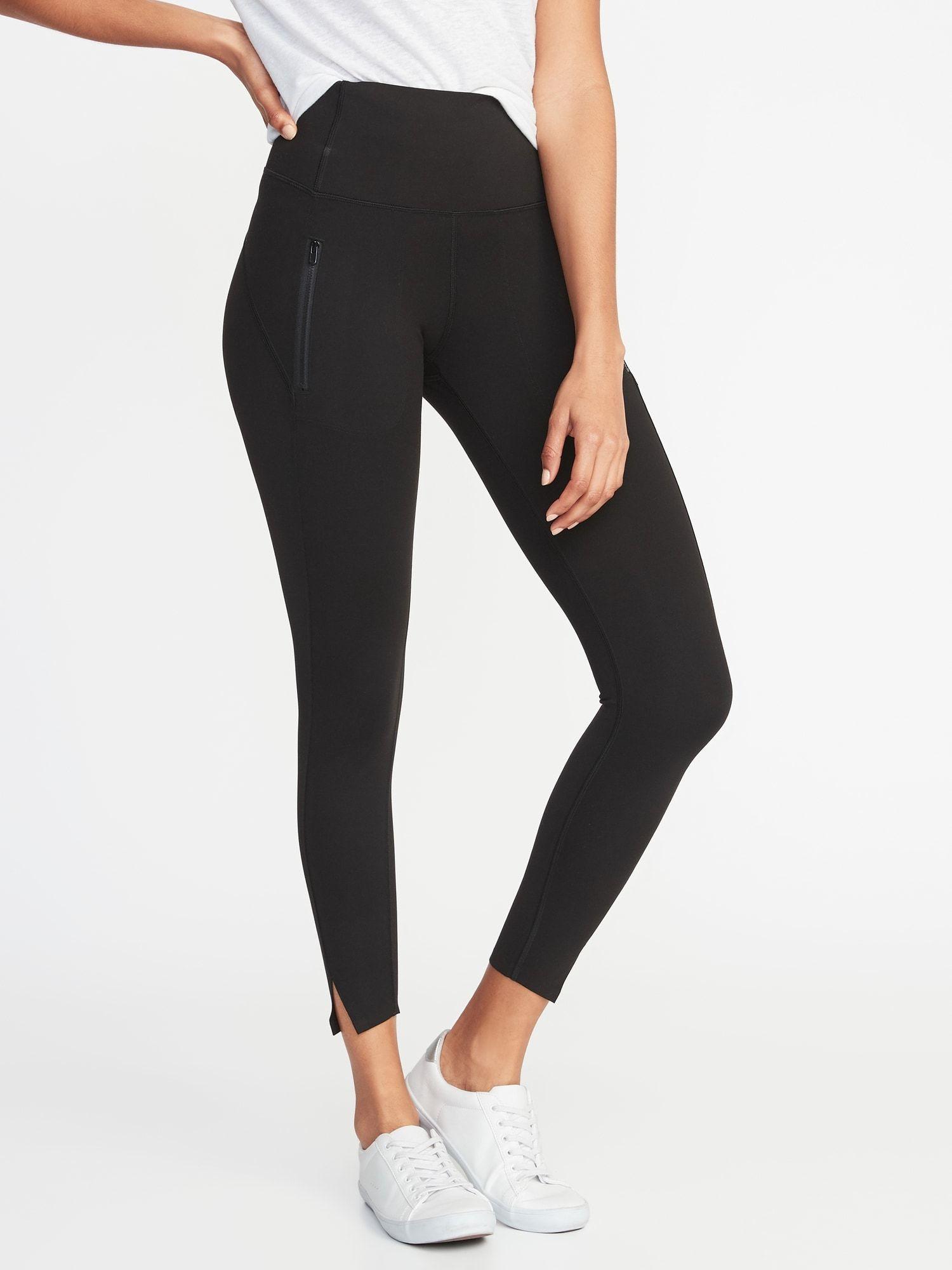 51e865b64ebdf0 High-Rise Zip-Pocket 7/8-Length Street Leggings for Women | Old Navy