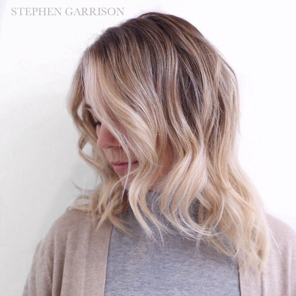 Perfect Low Maintenance Blonde Upkeep 6months With Images