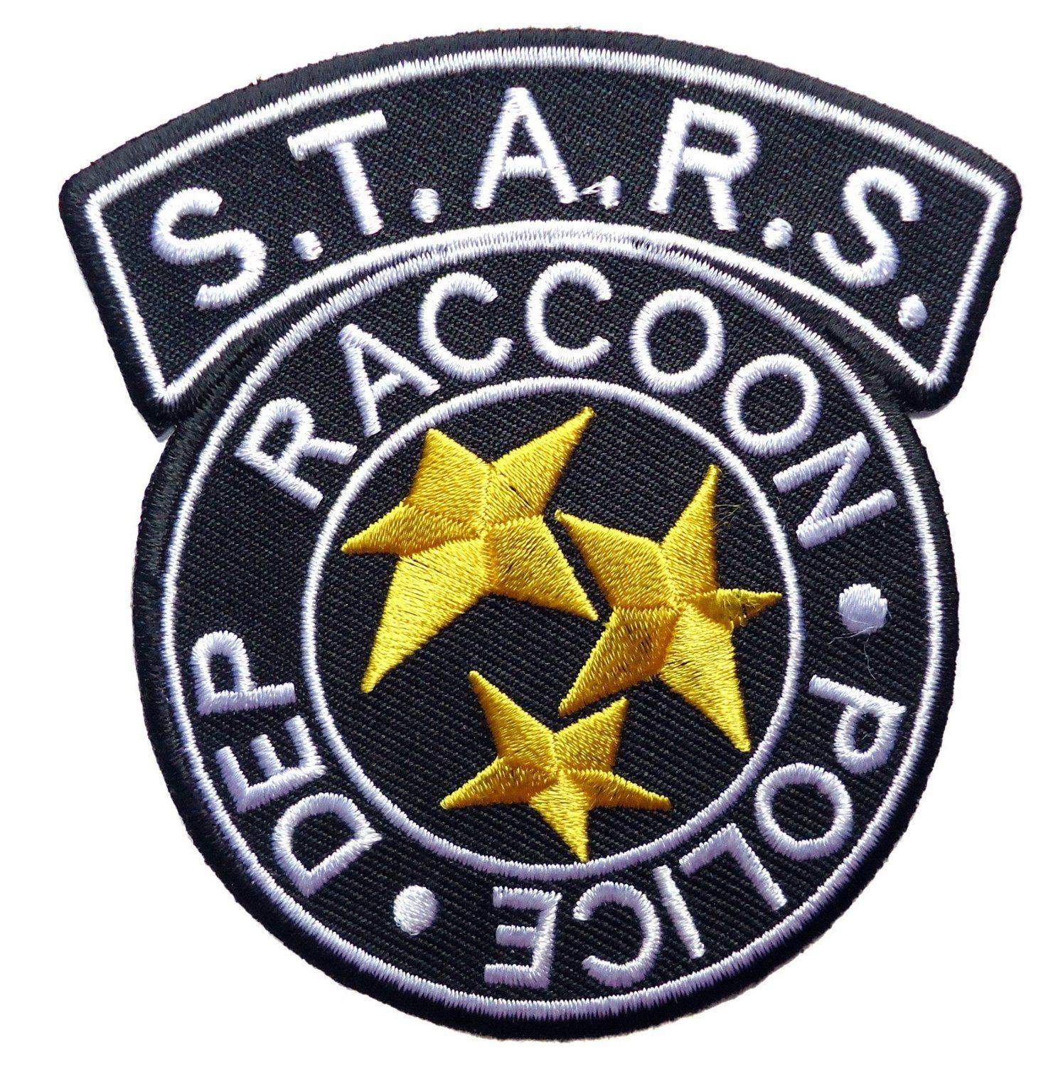 Amazon Com Resident Evil S T A R S Raccoon Police Blk Logo Patch Everything Else Resident Evil Tattoo Resident Evil Resident Evil Raccoon City