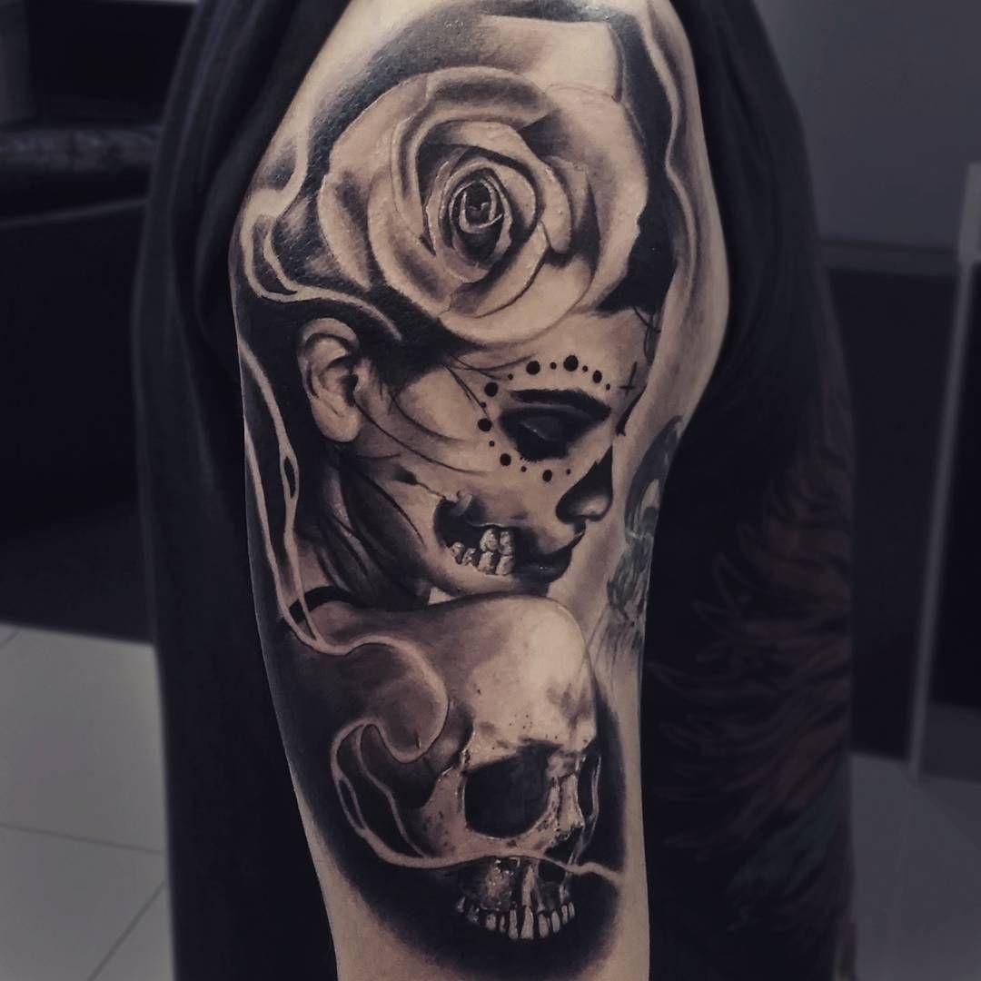 Pin En Tattoo Catrina