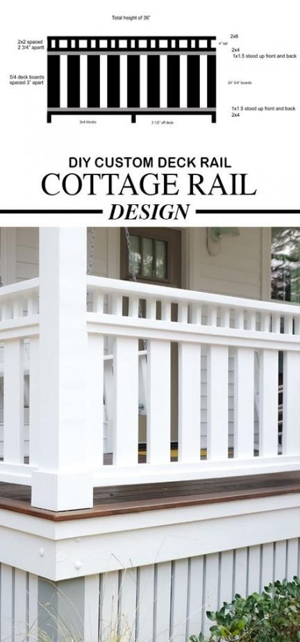 Best Farmhouse Porch Railing Cottages Ideas Farmhouse Custom
