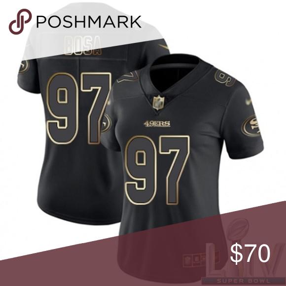 Women 49ers Nick Bosa Super Bowl Liv Jersey Super Bowl Liv Jersey You Re Hoping Your Favorite Team Can Make It Throu In 2020 Jersey Sweatshirt Tops San Francisco 49ers