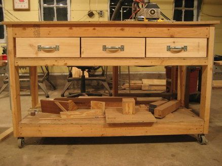 I Want To Make One Of These For My Detached Garage Google Image Result Workbench With DrawersBuilding