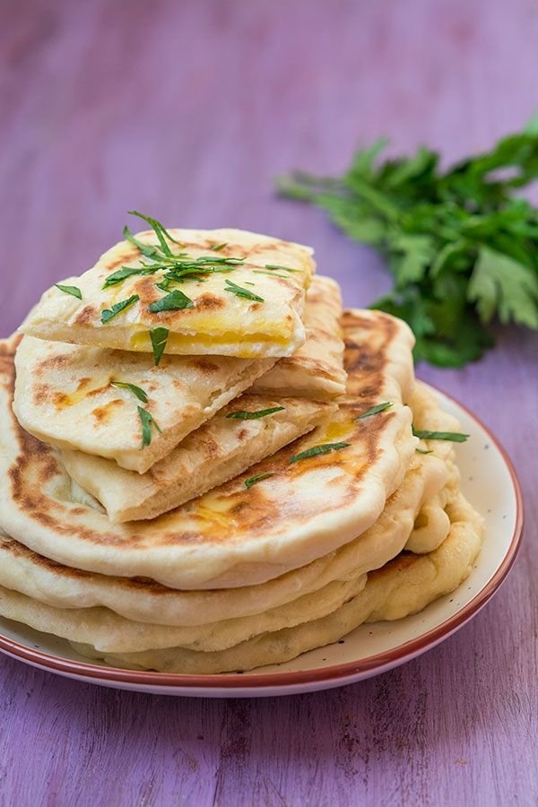 Recette facile de Naans fromage (cheese naan)