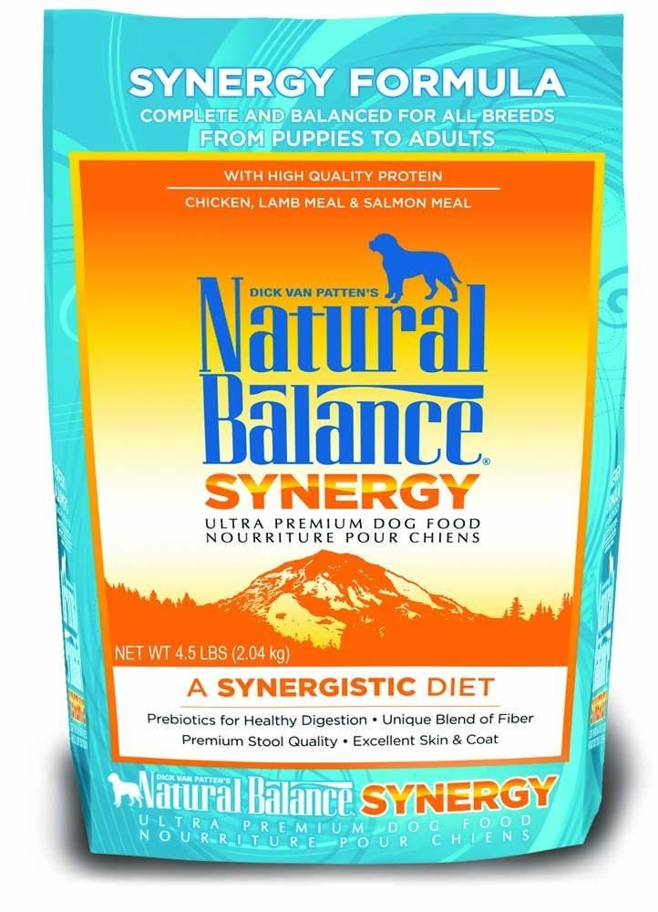 Natural Balance Synergy Ultra Premium Dry Dog Food 45lb In 2018