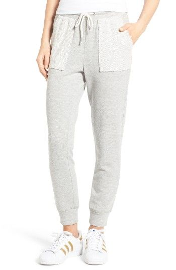 daedf2dd9e1c8b Reversed pocket details add cool texture to ultrasoft French terry joggers  cut with a slouchy