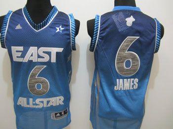 new styles 34b4c 1bb41 Miami Heats LeBron James 2012 NBA All Star Eastern ...