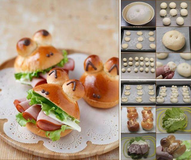 Na Cozinha da Margô: Pão Sapinho