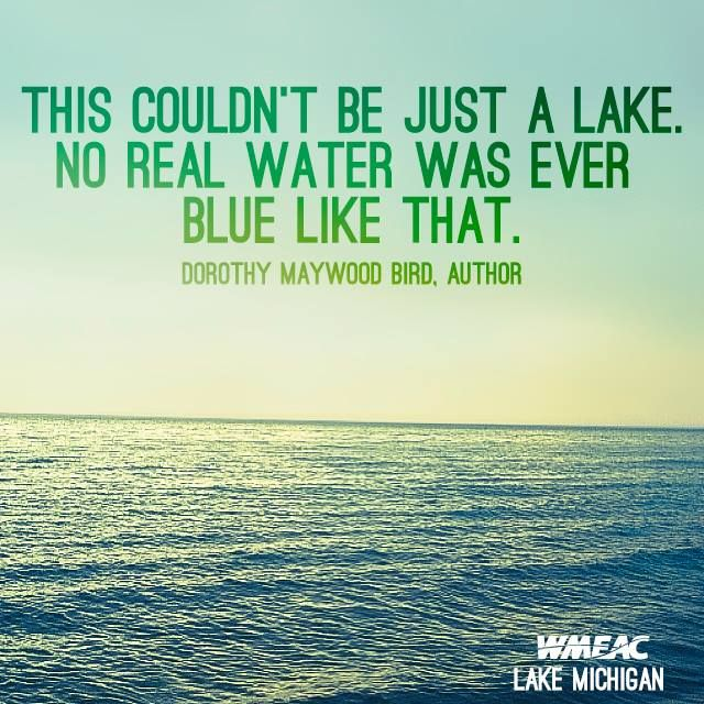Great Lakes Quote Series - WMEAC | Personal Design Archive