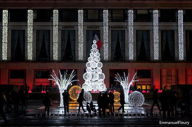 Noël, chaque instant à l\u0027hôtel de ville du Havre est