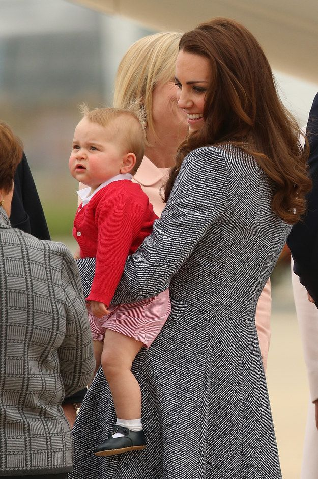 Why are they asking me about my political beliefs? | Prince George Saved His Best Unimpressed Facial Expressions Until Last