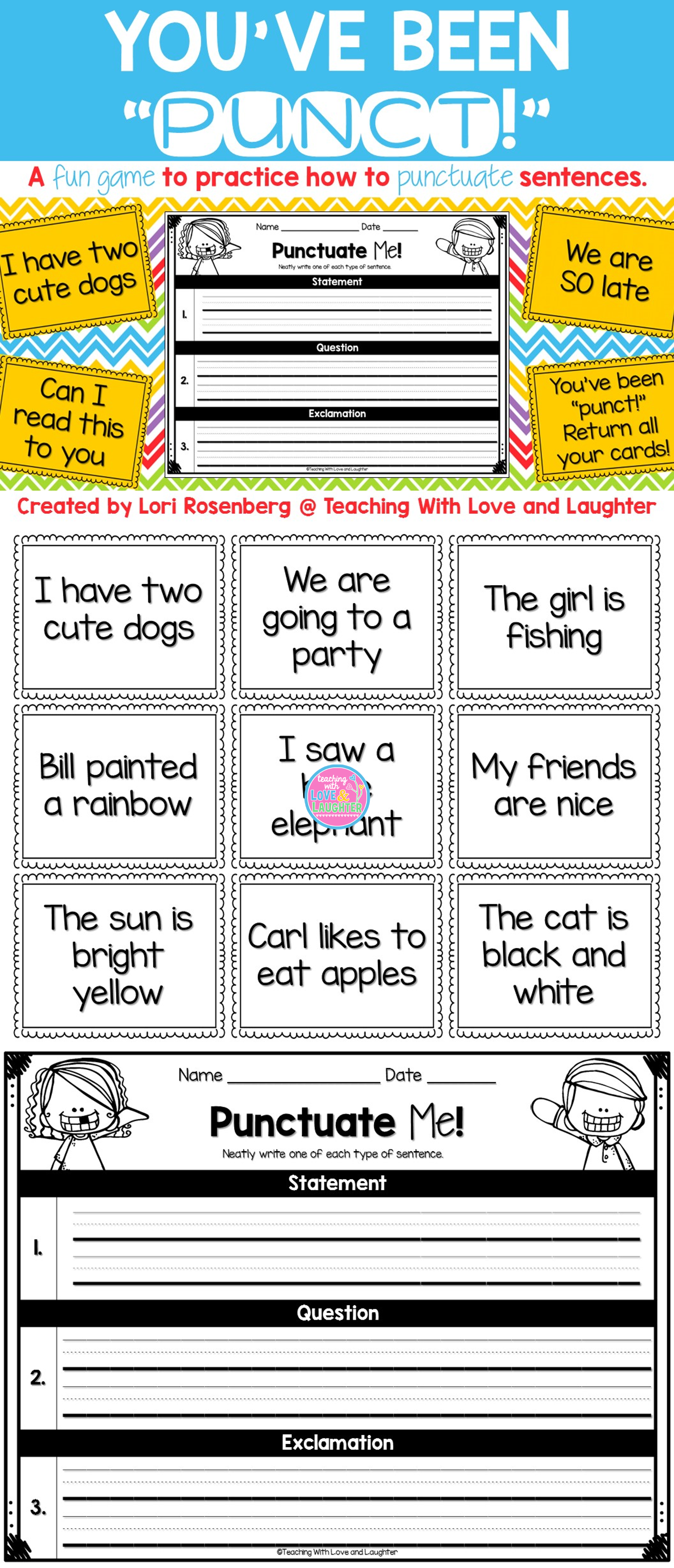 What A Fun Way For Your Students To Practice Proper