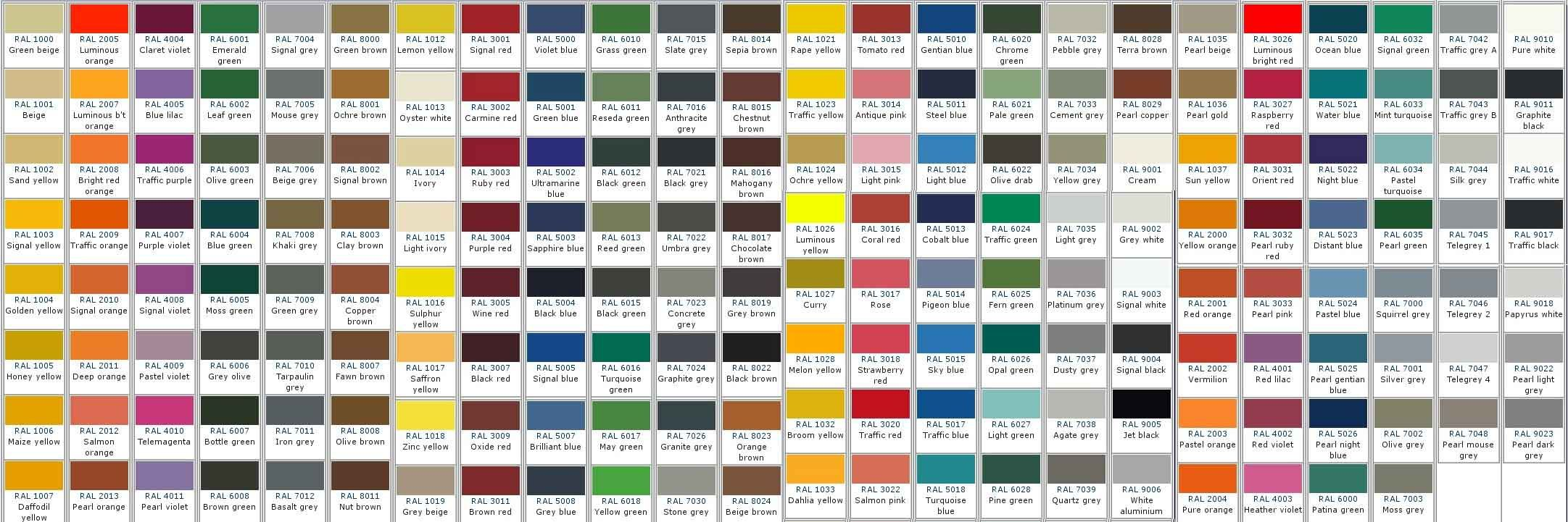 Nuancier Ral Illustrator Pin By Mila P On Design Resources Colour Names Pantone Color