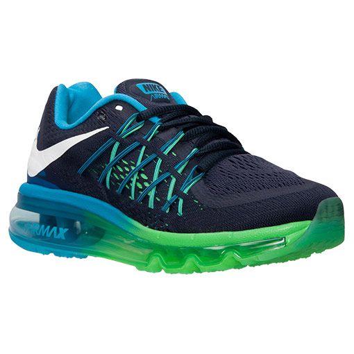 nike air max 2015 kids' running shoe
