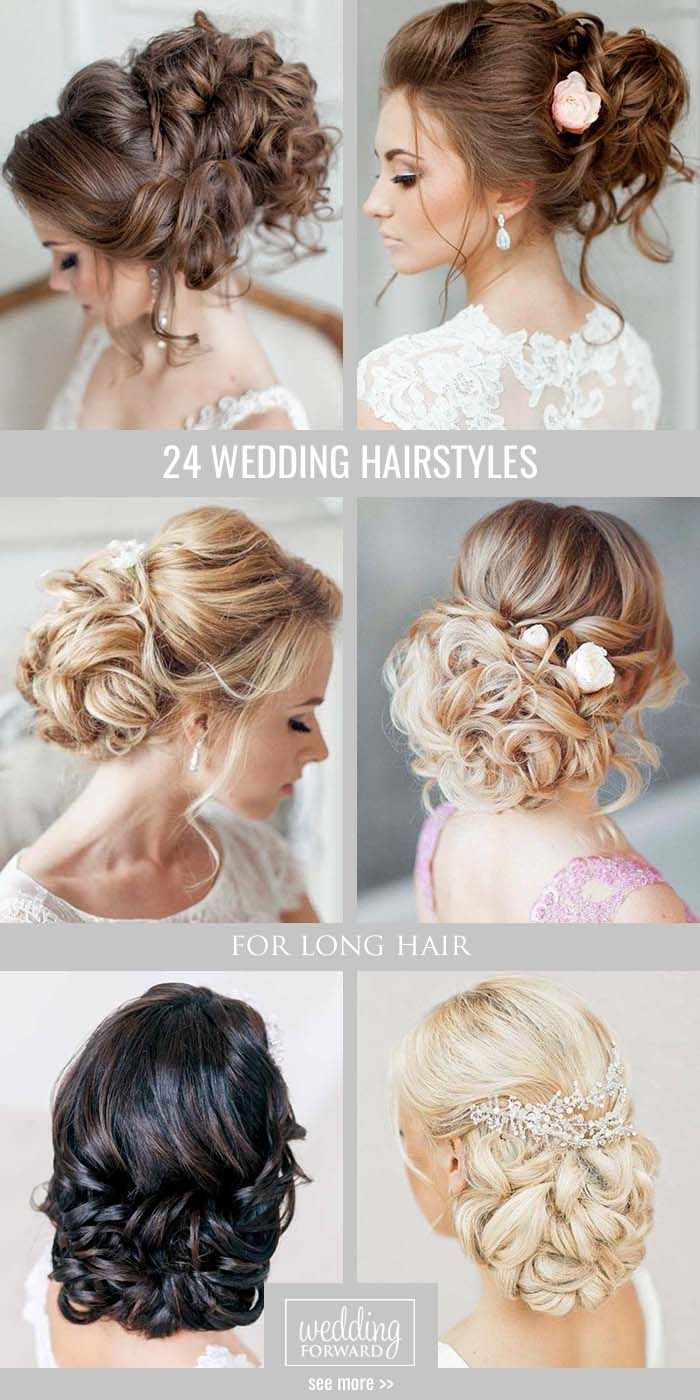 42 Best Wedding Hairstyles For Long Hair 2018 | Long hair wedding ...