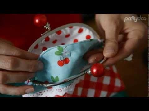 pattydoo tutorial #05 - Nähanleitung für eine kleine Tasche mit Taschenbügel