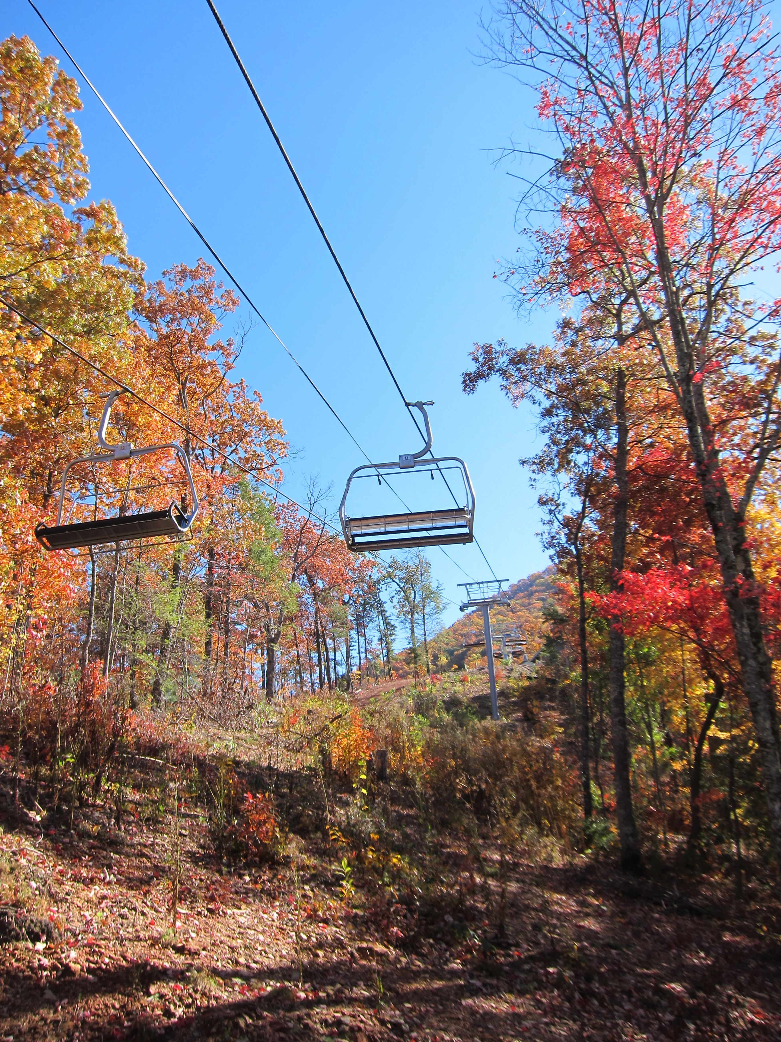 Chair Lift In Wears Valley Smoky Mountains Great Smoky Mountains National Park Mountain Getaway