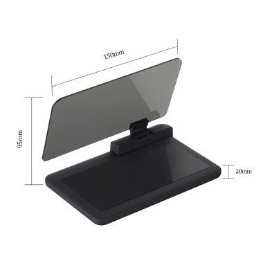 Universal Car HUD Navigation Bracket GPS Mobile Phone Holder Big Screen HD Reflection Projector | Tomtop.com