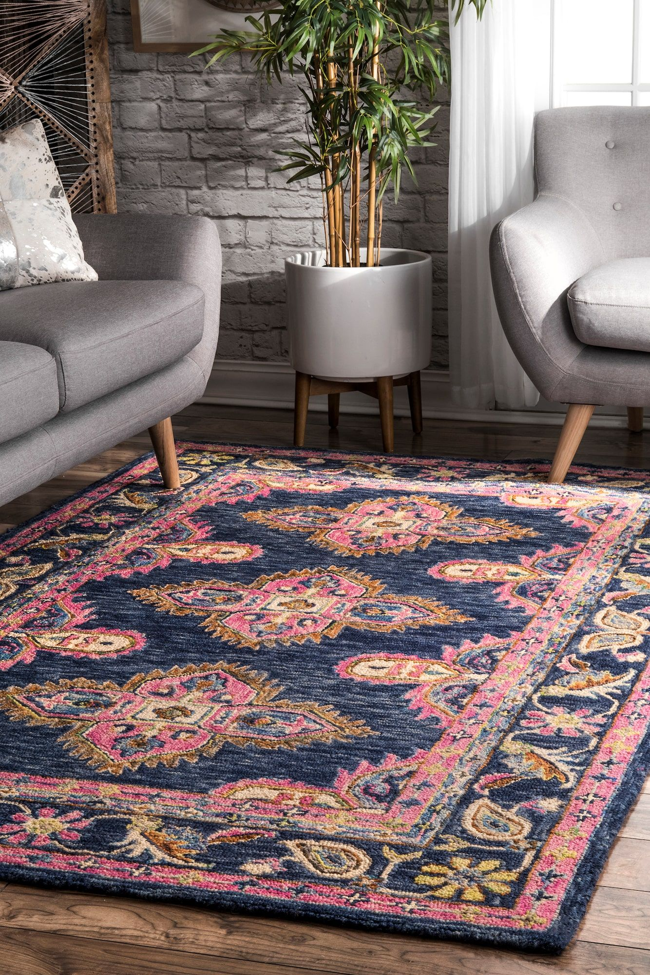 22 Reasons You Need to Invest in a Moroccan RugNow pictures