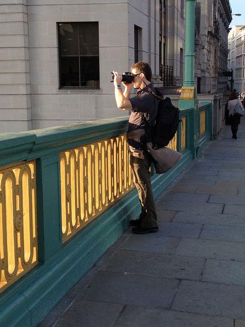 Southwark Bridge - London by ojosdesign, via Flickr