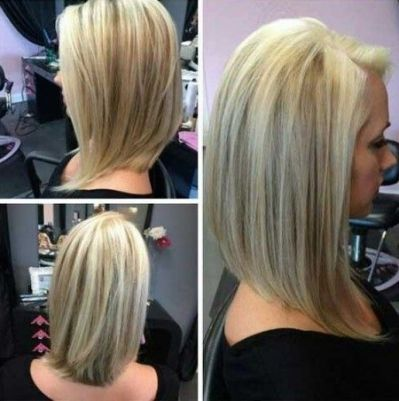 Angled Bob Back View Fit For Hair Styles Long Angled Bob Hairstyles Angled Bob Hairstyles