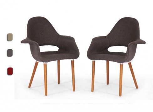 2 Forza Twill Style Chair