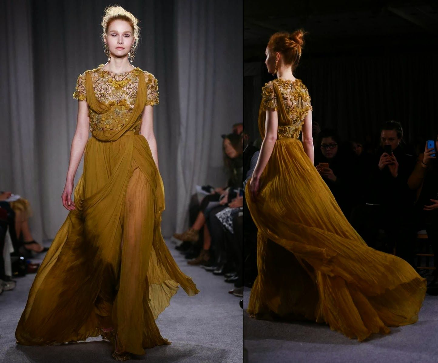 Mis Queridas Fashionistas: Marchesa Ready To Wear Fall/Winter 2014 -New York Fashion Week
