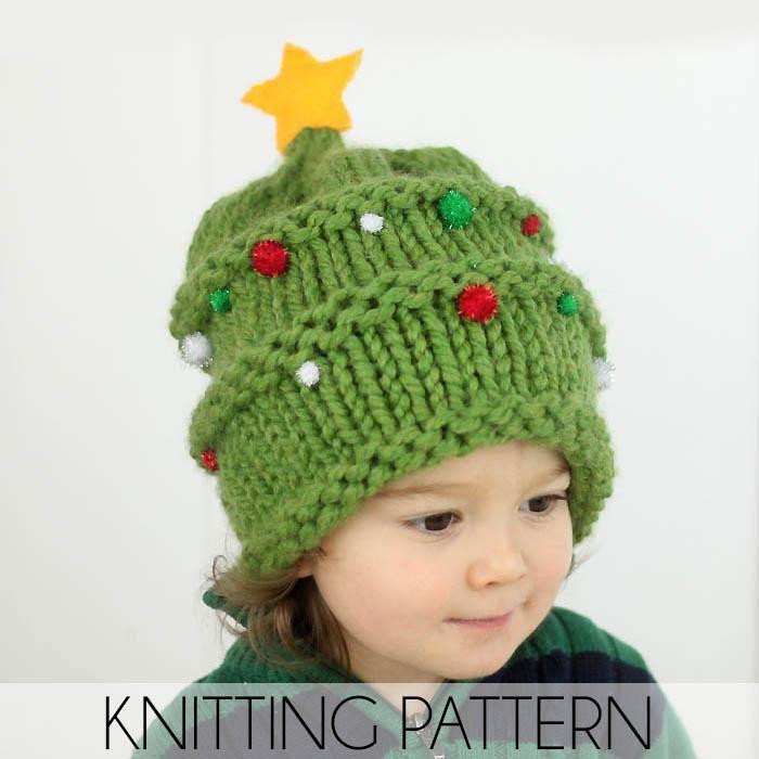 Easiest Kids Hat Knitting Pattern