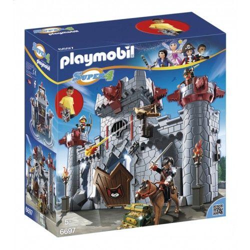 Super Transportable Baron Playmobil Noir 6697 Citadelle Du 4 AjLqc354R