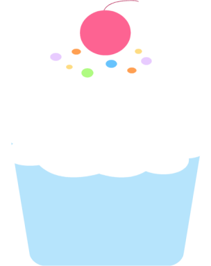 colorful cupcake clip art colorful cupcake image sunday school rh pinterest co uk cupcake clipart free cupcake clipart free