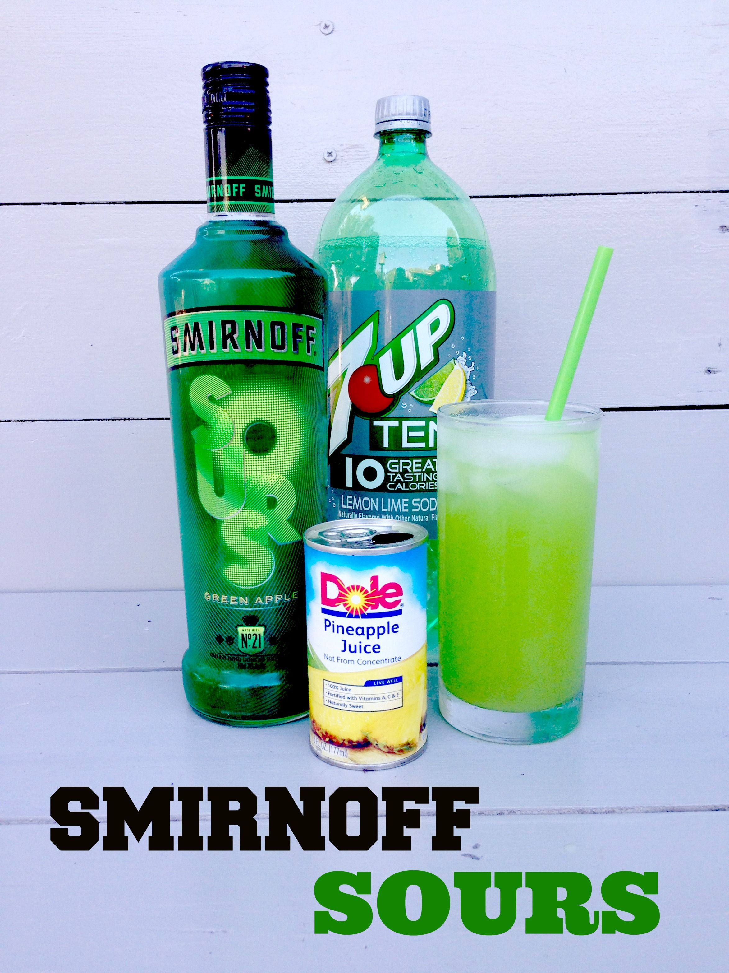 Smirnoff Sours Green Apple Vodka Recipe, Follow for more @hibazzz ...