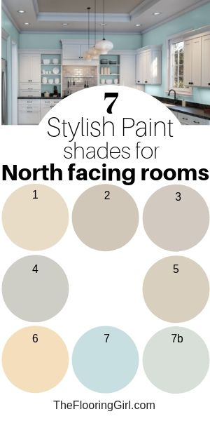 Best 7 Stylish Paint Colors For North Facing Rooms Paint 400 x 300