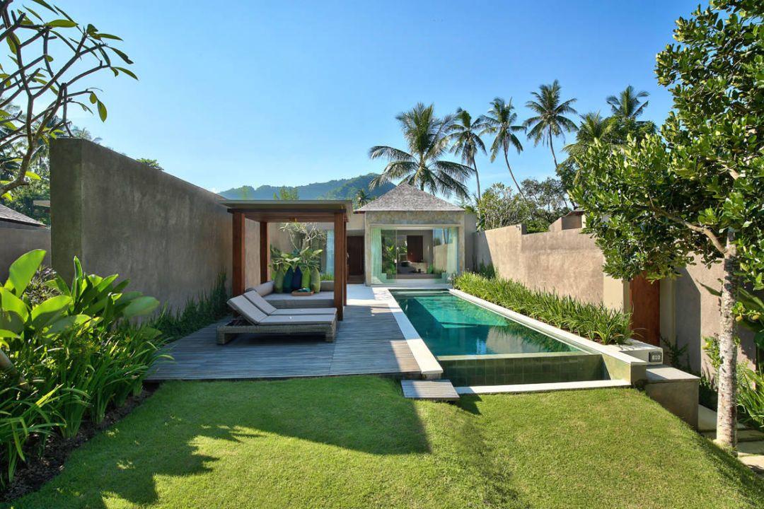 Výsledek Obrázku Pro Beach Resort Bungalow Garden Modern