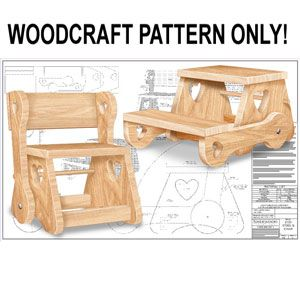 Childu0027s Chair/Step Stool DIY Woodcraft Pattern   Build This Childu0027su2026